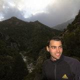 Upper Vecchio gorge