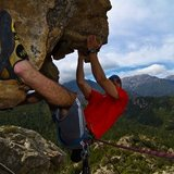 Climbing in the Travo valley