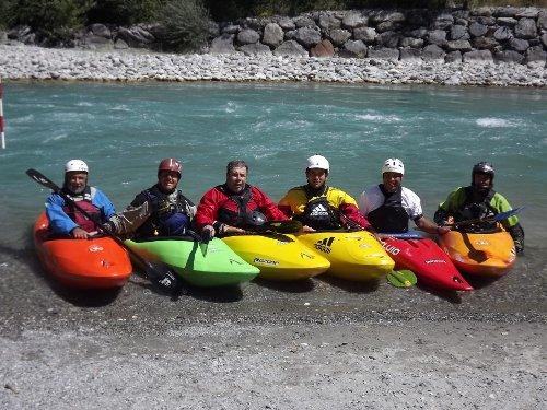 corso canoa durance 2012