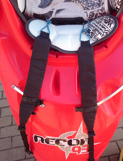backpack system for kayak
