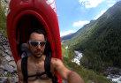 Kayak sherpa system fatto in casa