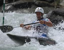 canoa canadese slalom
