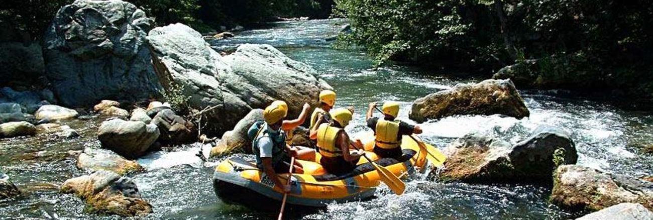rafting Sud Italia