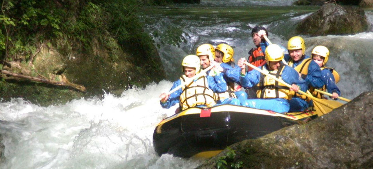 Rafting centro italia