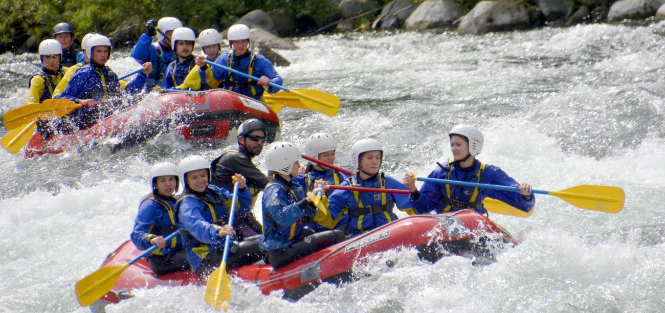 rafting nord italia